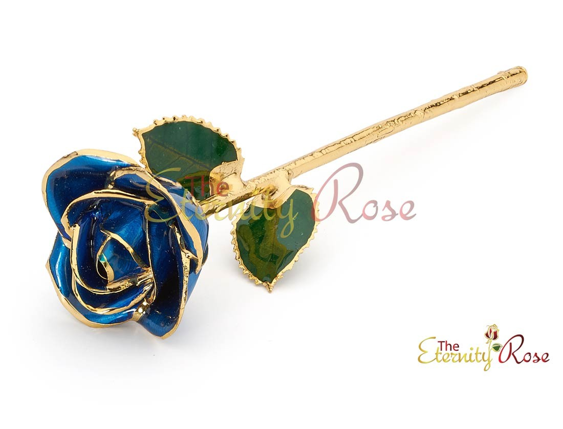 Gifts For Her Glazed Gold Dipped Rose
