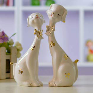 Romantic porcelain gift idea