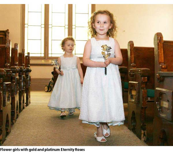 Flower Girls with Eternity Roses