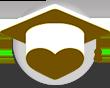 Graduation brown cap