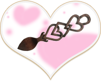 Love spoon Heart shape