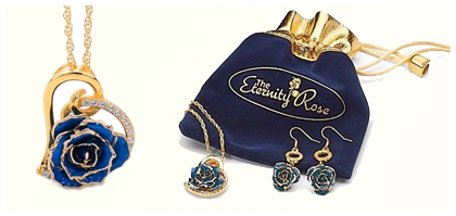 The Eternity Rose Earrings
