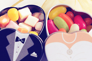 wedding day gift sweets