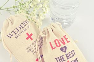 wedding gift DIY hangover kit