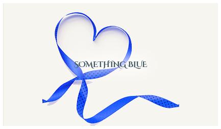 Wedding something blue